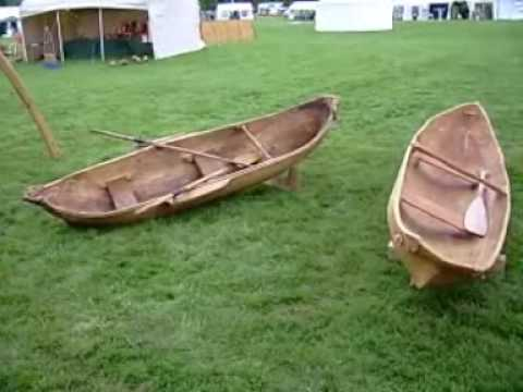 How to make a canoe out of a log