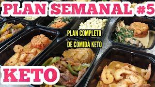 MENÚ SEMANAL #5 PARA DIETA KETO/PIERDE PESO RAPIDO DIETA 2020/MEAL PREP/PLAN DE COMIDA LOW CARB PLAN