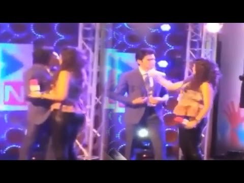 Kritika Kamra Slapped Rajeev Khandelwal For Forceful Kissing | Watch Video