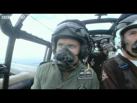 Colin and Ewan McGregor fly an original Lancaster Bomber - Bomber Boys - BBC One