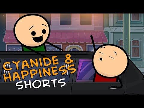 Limousine - Cyanide & Happiness Shorts