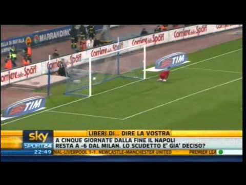 Napoli - Udinese 1-2 | Highlights Sintesi Sky Sport 24 | 17/04/2011 | 33^ giornata serie A | HQ