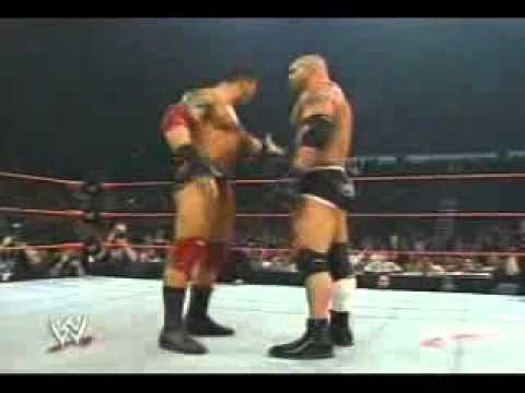 Wwe Goldberg Vs Batista video