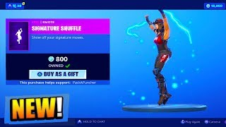 This NEW Emote is AWESOME.. (Fortnite: Battle Royale)