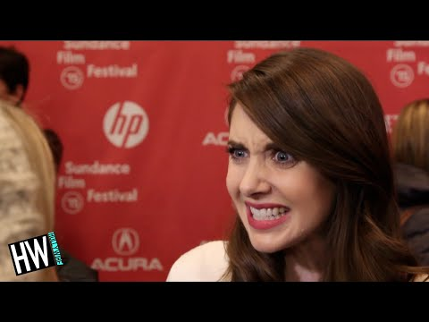 Alison Brie Talks Sex Scene In 'sleeping With Other People' (sundance 2015) video
