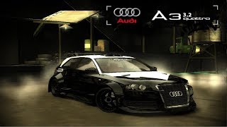 NEED FOR SPEED MOST WANTED AUDİ A3 3.2 QUATTRO MODİFİYE