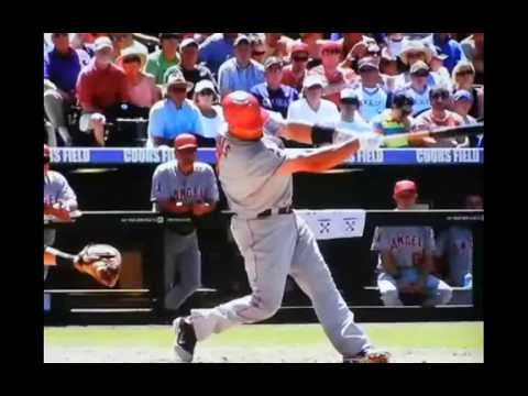 Albert Pujols Swing Analysis-Releasing The Back Foot For Power