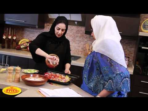 Moroccan Vegetable Couscous Salad سلطة الخضار المشوية بالكسكس المغربي