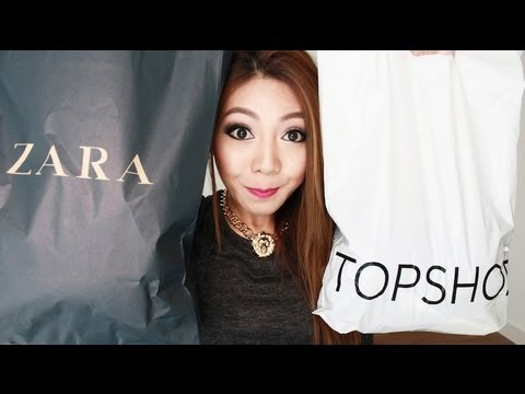 FASHION HAUL!! - ZARA, ASOS, ROMWE etc..