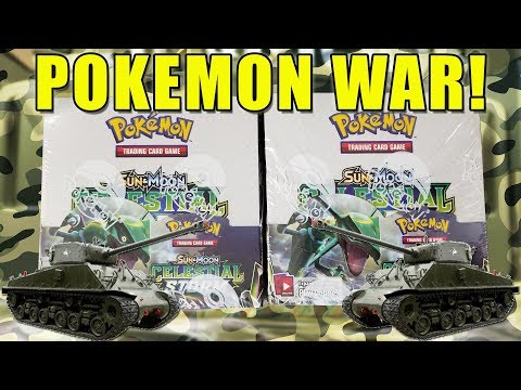 POKEMON CELESTIAL STORM BOOSTER BOX WAR!! Opening 2 Celestial Storm Booster Boxes of Pokemon Cards
