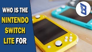 Nintendo Switch Lite Details