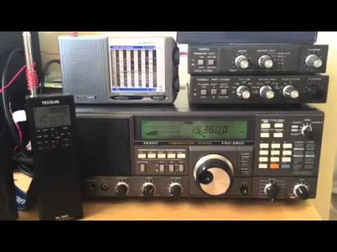 Mashaal Radio Sri Lanka 15360 KHz Yaesu FRG-8800, received in Oxford UK