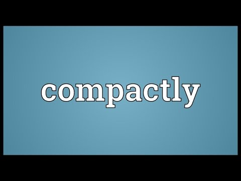 Header of compactly