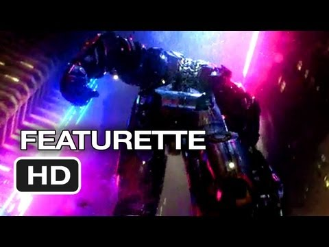 Pacific Rim Featurette - Robot Sets (2013) - Guillermo del Toro Movie HD