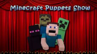 Puppet Steve React To Sausage Party Movie Trailer Video! Minecraft Puppet Steve