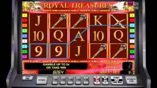 Игровой автомат Royal Treasures - на gamble2fun.com