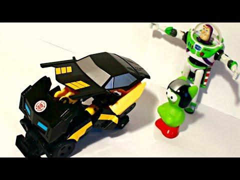 Домашний патруль - Поиски робота - Мультики про машинки