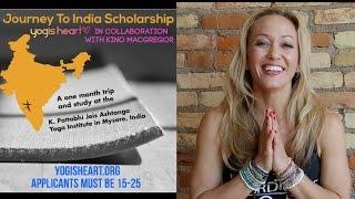 Yogis Heart, Journey To India Scholarship