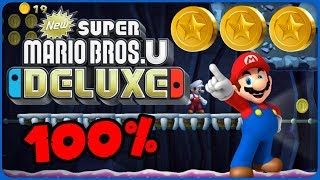 6-6 Thrilling Spine Coaster ❤️ New Super Mario Bros. U Deluxe ❤️ 100% All Star Coins