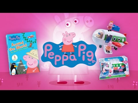 Peppa Pig Around the World DVD & Holiday Plane! | A Toy Insider Play by Play