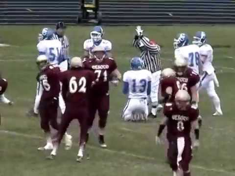 De Soto, WI 2008 Football Highlights Part 2