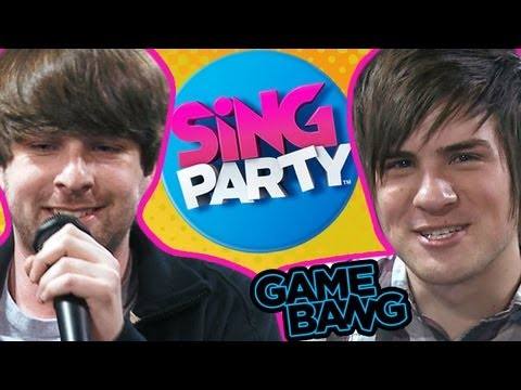 Subscribe to Smosh Games! http://bit.ly/Sub2SmoshGames Time to show off our singing skills in Sing Party on Wii U The whole Smosh Games crew gets together to...