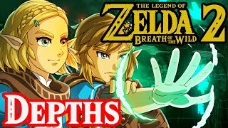 Secrets Underground Hyrule - Breath of the Wild 2 Theory