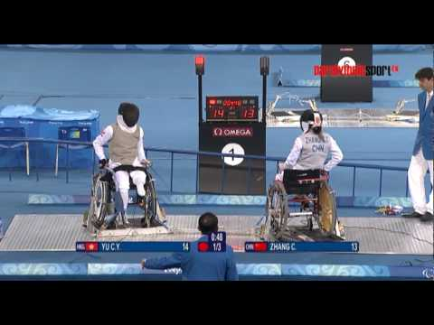 Inside Sports Wheelchair Fencing