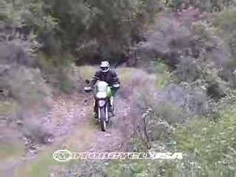 Dirt Bikes - 2008 Kawasaki KLR650 Dual Sport Motorcycle Video