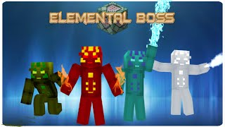 Elemental Boss in vanilla MC | ONLY ONE COMMAND BLOCK (1.9)