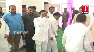 CM KCR Pay Tribute to His Sister Leelamma | Alwal  live Telugu