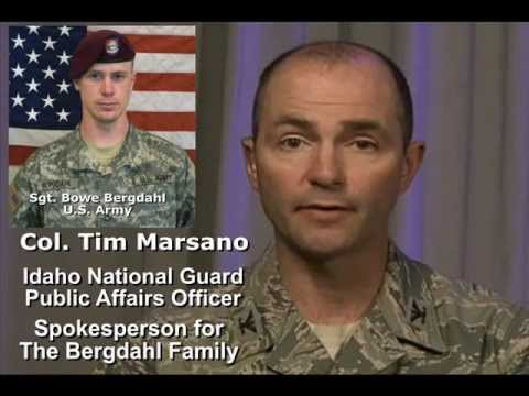 TCB - Interview with Col. Tim Marsano Regarding POW Sgt. Bowe Bergdahl - Segment 1