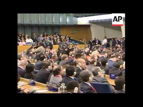 WRAP Food summit opens, UN Sec Gen, Fukuda, Lula, Mugabe, Fernandez