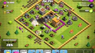 Epic Clash of Clans - Episode 4 Giant - Healer - Wizard Combo.mp4