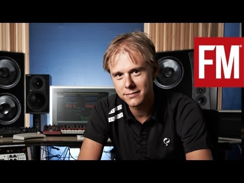 Armin van Buuren In The Studio With Future Music