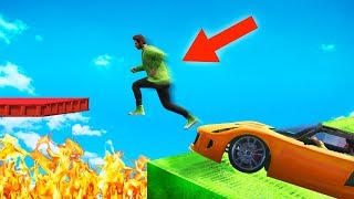 MOST DANGEROUS DEATHRUN EVER! (GTA 5 Funny Moments)