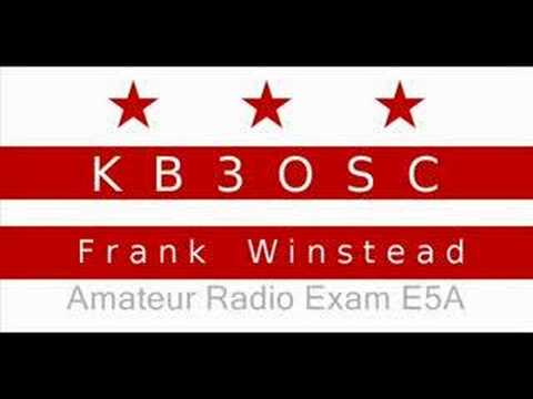 Amateur Radio Extra Exam Prep E5A
