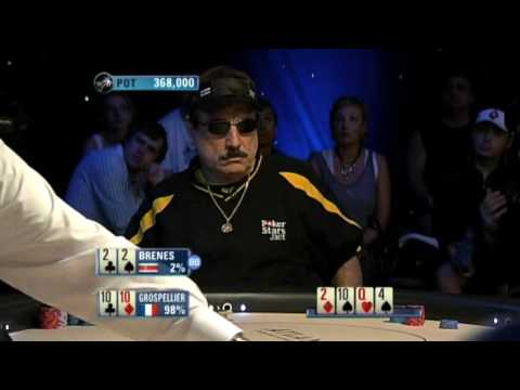 Bertrand Grospellier ElkY - PCA High Roller 2009 - ElkY vs Brenesn - PokerStars.com Video