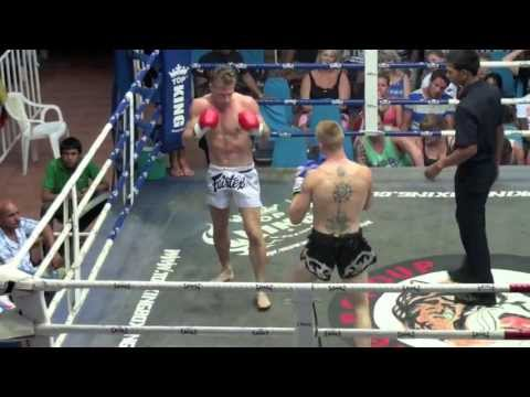 Bevan O'Malley (Tiger Muay Thai) wins via elbow KO @ Bangla Boxing Stadium 25/9/2013 Image 1