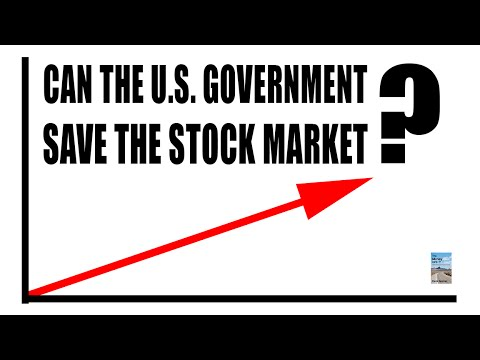 U.S. Government SECRETLY Preventing a Stock Market Collapse!