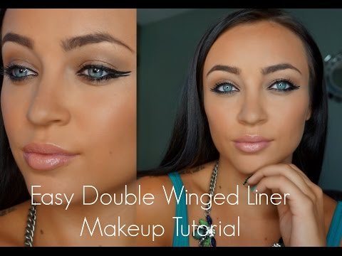 Easy Double Winged Liner Makeup Tutorial
