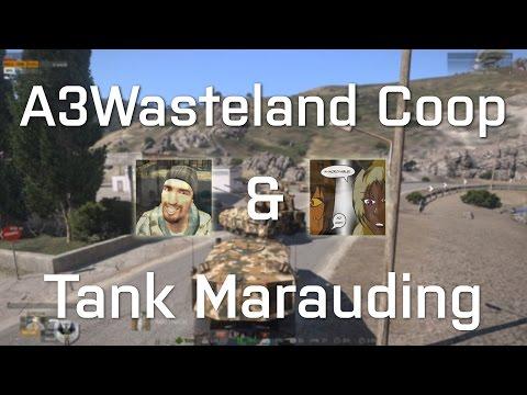 Arma 3 Wasteland Coop: Tank Marauding
