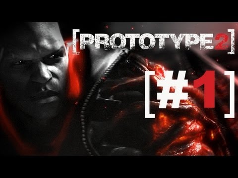 Let's Play Prototype 2 #1 - UNCUT - [deutsch/german] - Prototype 2 Gameplay mit Fritz und Michi