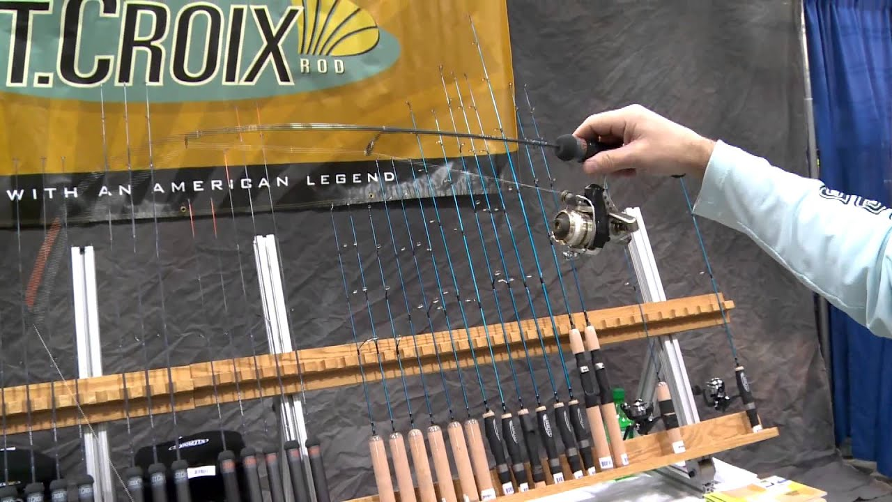 2014 ice fishing expo st croix rods fishing city for Ice fishing expo