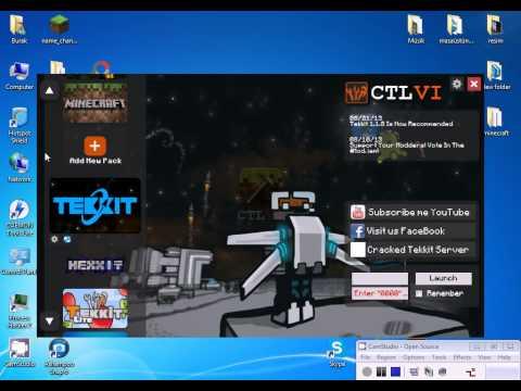 Minecraft Cracked Technic Launcher Kurulum ve Giriş