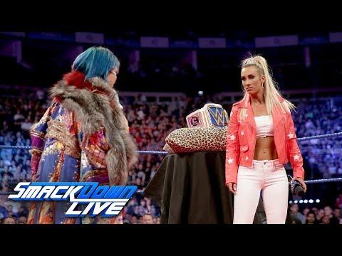 Asuka crashes Carmella's Royal Mellabration: SmackDown LIVE, May 15, 2018