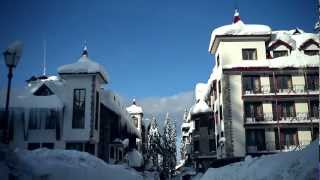 Bulgaria in snow