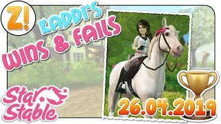 Star Stable [SSO]: Kaddi's Wins & Fails mit Cloudprincess [26.04.2019] [DEUTSCH]