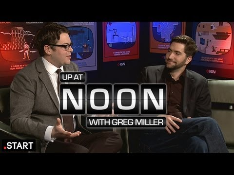 Extended Cabin In The Woods Interview With Drew Goddard - Up At Noon