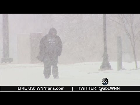 Snow Storm 2014: Midwest and Northeast Hit With Deep Freeze